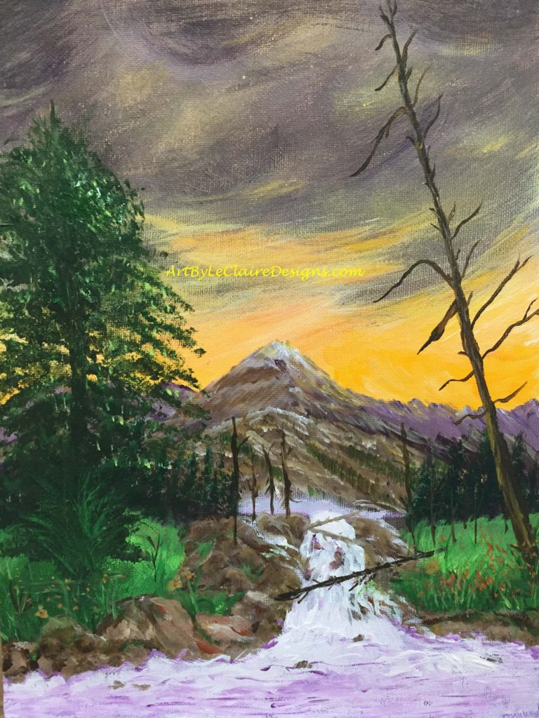 Mountain painting2 w